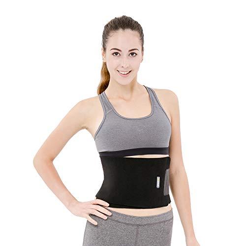 BRACOO Fitnessgürtel – Damen & Herren – Hot Belt – Schwitzgürtel – Waist Trimmer | Schnell & Einfach Abnehmen mit dem Bauchweggürtel - 2