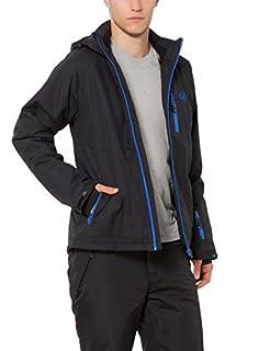 Ultrasport Soft Shell Veste Everest Ski Homme, Noir (Anthracite/Bleu Victoria), Large (B008AGO7FA) | Amazon price tracker / tracking, Amazon price history charts, Amazon price watches, Amazon price drop alerts