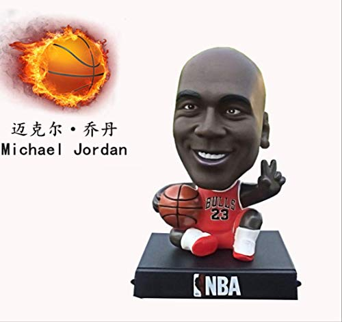 UD-strap Q Version NBA-Basketball-Star Fußball-Star Mesikuri Schütteln Kopf Puppe Auto Dekoration Autozubehör 12CM g (Spielzeug Deadpool Marvels Lego)