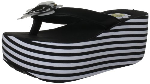 Rocket Dog Kallen, Damen Sandalen Schwarz (Black)