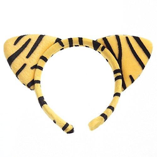Serre-tête motif tigre