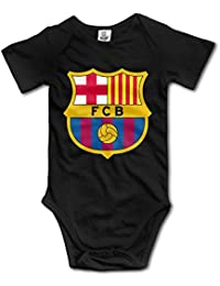 QCNEY del bebé FC Barcelona Body Pelele Mono Ropa de bebé