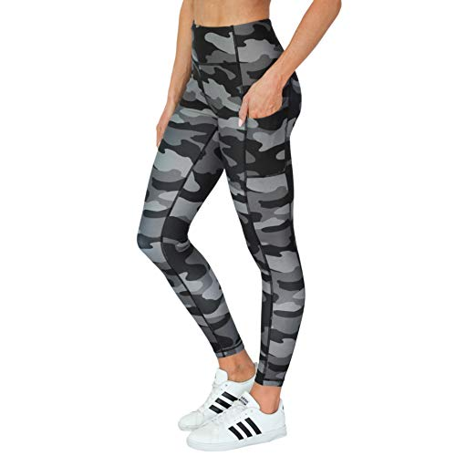 8069621b4fd Maven Thread Exercise Yoga Running Pants with Pocket Compression  Performance Wear High Waist 7 8