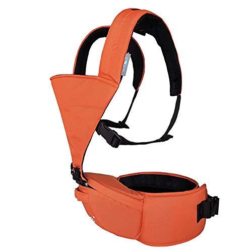 YUMEIGE Babytragen Babytrage for Neugeborene , Tragetuch for Neugeborene Baby-Rückentrage Ergonomische Babytrage for Neugeborene und Kleinkinder (3,6 kg-15 kg) (Color : Orange)