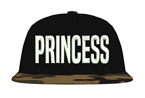 TRVPPY Snapback Camouflage Cap/Modell MR. / Jungle Camouflage-Weiß / B691