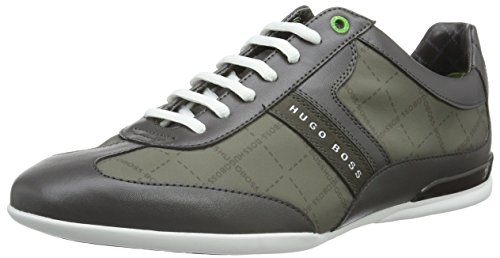 Boss Green Space Lowp Nypr 10191438 01, Baskets Basses Homme Gris (Med Grey 030)