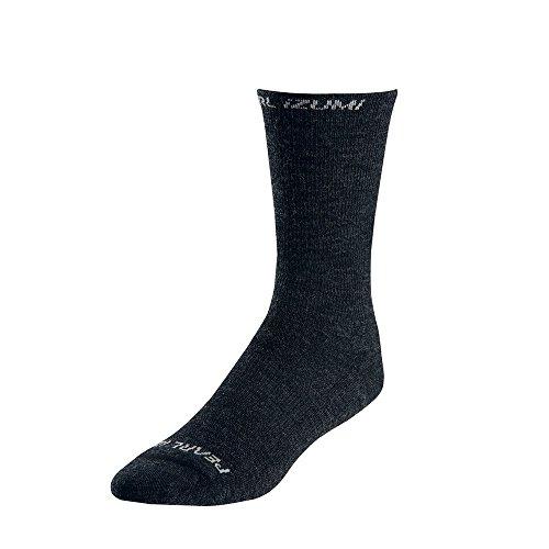 Pearl Izumi Elite Thermal (Pearl Izumi Elite Thermal Wool Fahrrad Socken schwarz 2016: Größe: L (41-44))