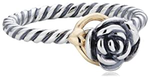 Pandora 190860-52 14ct 2 Colour Gold Ring Of Size L 1/2