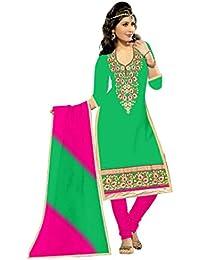 Mahi Fashion Women's Cotton Dress Material (MF15_Free Size_Multi-Coloured)