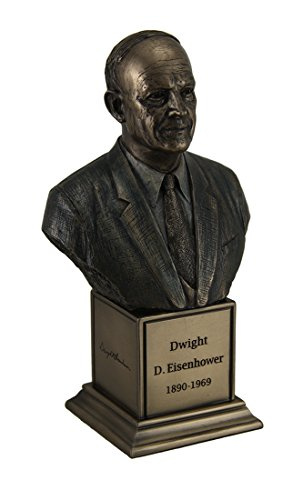 American President Dwight D. Eisenhower finitura bronzo