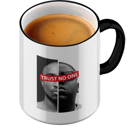 Funtasstic Tasse Trust No One 2 - Kaffeepott Kaffeebecher by StyloTex (Thug-kaffee-tasse)