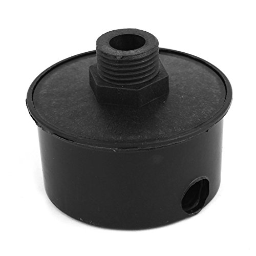 black-plastic-20mm-male-threaded-filter-silencer-for-air-compressor