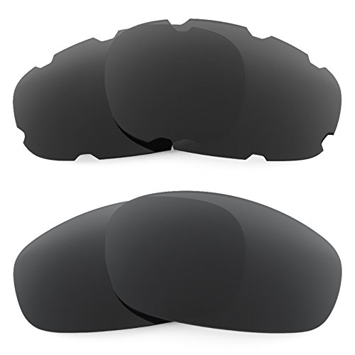 Revant Ersatzlinsen für Oakley Split Jacket Asian Fit Polarisiert 2 Paar Kombipack KM01