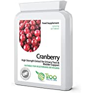 Cranberry 5000mg 90 Tablets - High Strength Daily Supplement to Support a Healthy Urino-Genital Tract, Kidneys and Bladder, Healthy Heart & Cardiovascular Function, Healthy Circulation & Healthy Bacteria Balance