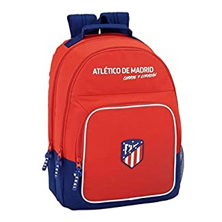 Safta Mochila Atlético De Madrid «Coraje» Oficial Mochila Escolar, 320x160x420mm