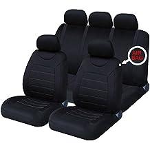 XtremeAuto® clásico coche de fundas de asiento frontal y trasero completa con fundas para reposacabezas