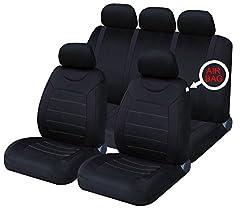 XtremeAuto XASC21 Sitzbezug, Schwarz , Stück: 9