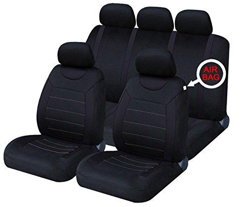 XtremeAuto Classic car seat Covers set anteriore e posteriore completo con poggiatesta coperture