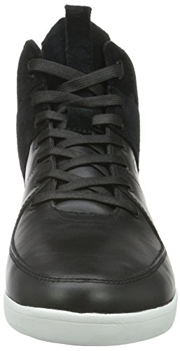 Boxfresh Camberwell ICN Lea/Sde, Baskets Basses Homme Noir - Noir