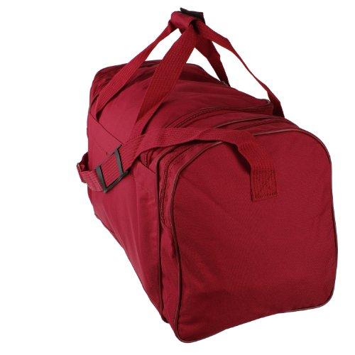 Eurotravel Reisetasche, Umhängetasche, Schultertasche ohne Rollen (56 cm, rot) rot
