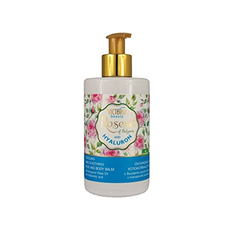 Preisvergleich Produktbild Cooling & Smoothing Face and Body Balm with Bulgarian Rose Oil & Hyaluronic Acid by Victoria Beauty