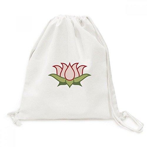 DIYthinker Lotus Buddhismus China Muster-Leinwand-Rucksack-Reisen Shopping Bags