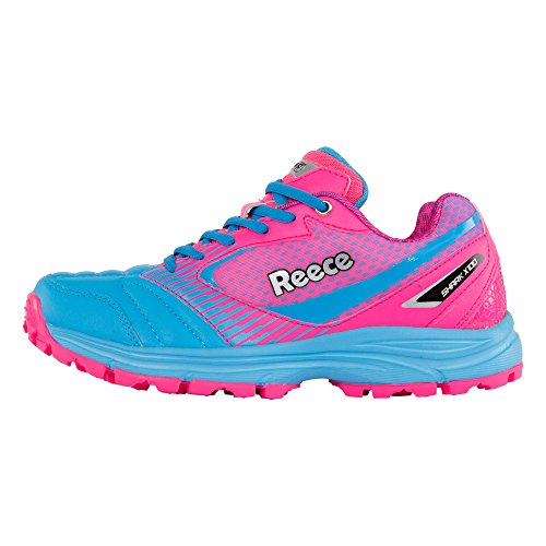 Reece Junior Astro Hockey Shoes - Shark - Pink Test