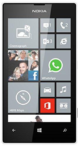 Nokia Lumia 520 GSM Mobile Phone (White)