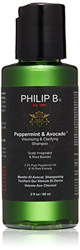 Philip B peppermint Shampoo & avocado volumizzante & chiarire Shampoo 60 ml