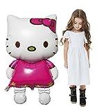 Sunnyvision Topmodel Hello Kitty Folien Ballon 110cm x 65cm Aufblasbar Kinder Geburtstag Hochzeit Dekoration Party