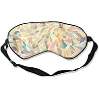 Sleep Eye Mask Decorative Feathers Lightweight Soft Blindfold Adjustable Head Strap Eyeshade Travel Eyepatch preisvergleich bei billige-tabletten.eu