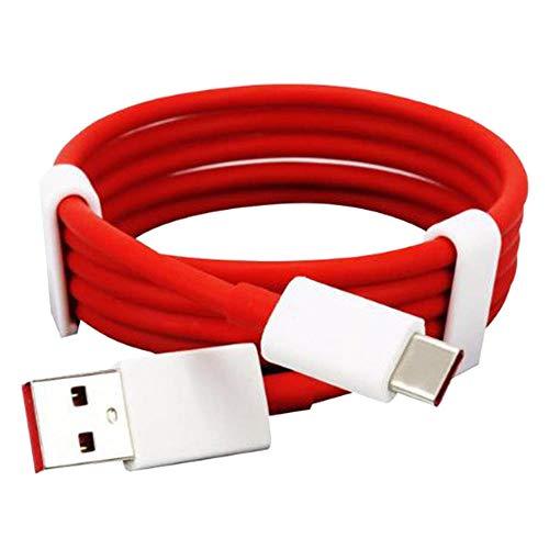 Refaxi Câble de Données pour Chargeur Rapide USB Oneplus Dash Type-C One Plus 6 5T 5 3T