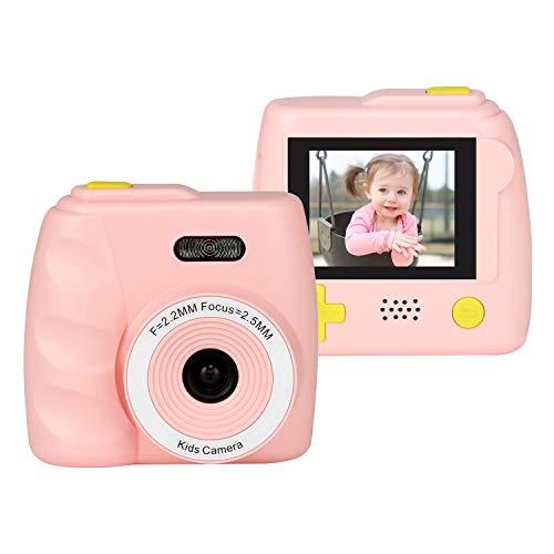 Cámara de Fotos para Niños,Mini Cámara Hermosa de Juguete ,Color LCD de2.0 HD Pantalla Cámara de Video Digital , Recargable Portátil,5 Megapixels,Anti-caída