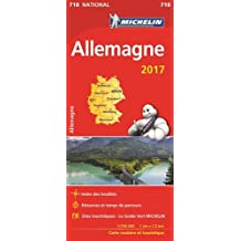 Carte Allemagne Michelin 2017