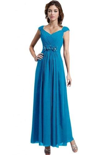 Lemandy - Robe -  Femme Bleu - Bleu