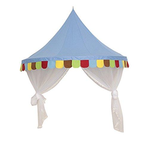 Perfeclan Princess Bed Canopy W/Gasa Cortina Play