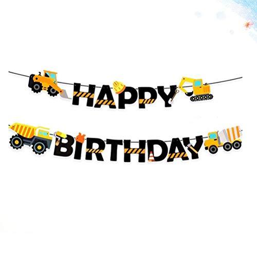 Amosfun Banner zum Aufhängen, BAU-Geburtstags-Dekoration für Kinder