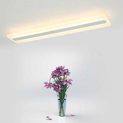Preisvergleich Produktbild DENGJU LED Modernes einfaches Büro-Wohnzimmer-Schlafzimmer-Studie Korridor-Gang-dreifarbige helle Acryldecken-Deckenlampe (tragen Sie die helle Quelle)