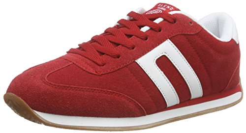 Blend 20700505, Baskets Basses homme Rouge - Rot (73815 Cranberry Red)