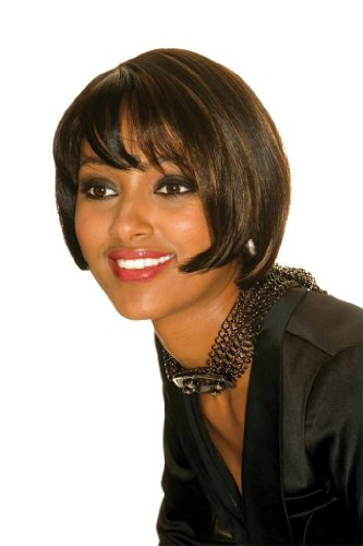 Sleek Top quality synthetic Wig -Amma Colour 2-Dark Brown