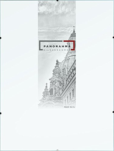 Bilderrahmen Rahmenlos Glasbilderrahmen, Bildformat: 21 x 29,7 cm (DIN A4), Normalglas, Echtglas