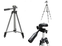 Pluvios Lightweight Digital Camera Tripod + Tripod Carry Bag For Canon Powershot + Elph A, Sx, S Series Inc G3 G16 Sx240 Hs, Sx280 Hs, Sx510 Hs, Sx530 Hs, Sx610 Hs, Sx620 Hs, Sx710, S120, S200
