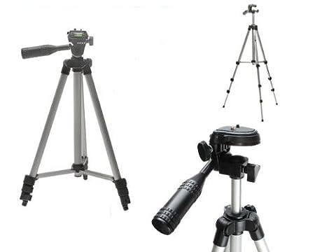 NewTech Léger appareil photo numérique Trépied + Trépied Sac de transport pour Panasonic Lumix FH, FP, FS, FT, FX, L, S, SZ, TZ, 3D série inc FZ72, FZ300, TZ30, TZ35, TZ40, TZ100, F5, TZ57,