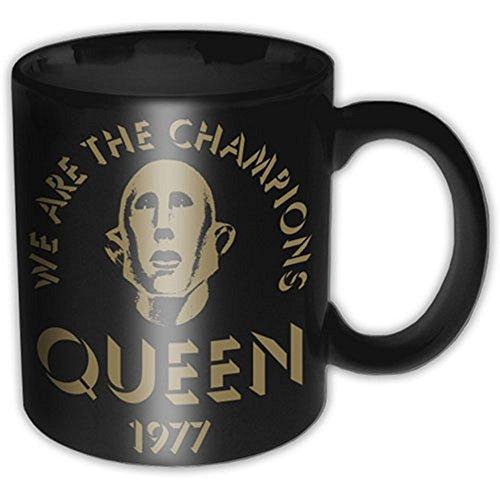 Queen - Keramik Tasse - Champions 77 - Geschenkbox