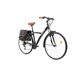 41yqTSWctnL. SS300 Moma Bikes Hybrid 28 BLN, Bicicletta Unisex – Adulto