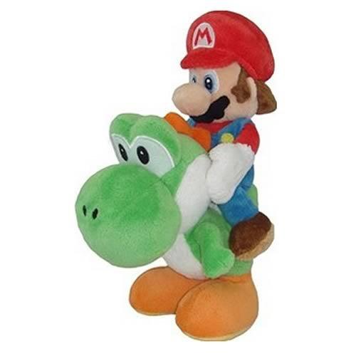 Little Buddy Super Mario Plüsch-Mario und Yoshi Plüsch, 20,3cm - Plüschtiere Soft-plüsch
