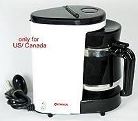 Citizen 400 Watt, 110V Coffee Maker (White)