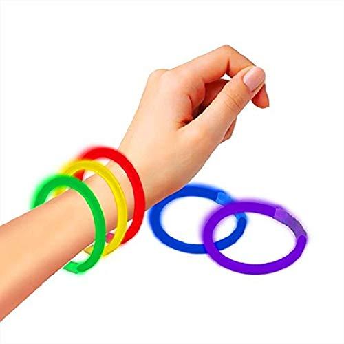 icklicht-Armbänder Premium Ultra Bright Light Up Toys für Mädchen, Jungen oder Erwachsene ()