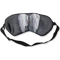 Sleep Eye Mask Angel Wings Lightweight Soft Blindfold Adjustable Head Strap Eyeshade Travel Eyepatch E5 preisvergleich bei billige-tabletten.eu