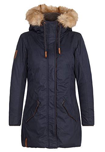 Naketano Female Jacket Spritzgebäck Notdienst Dark Blue, XS